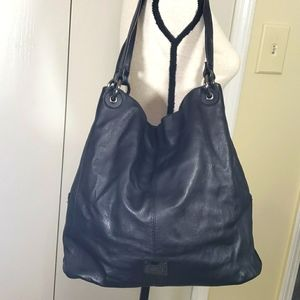 Kenneth cole reaction leather shoulder purse
